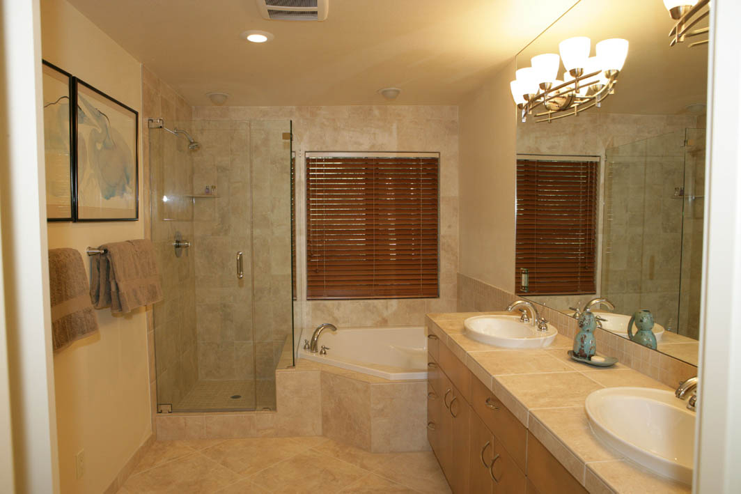 Bathroom design gallery alpine custom interiors for Restroom tub